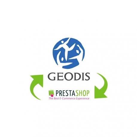 Module Prestashop Geodis